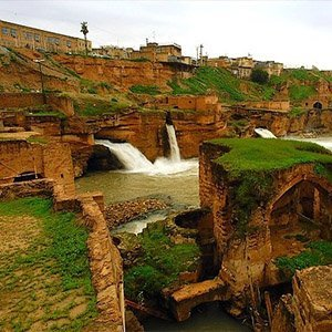Shushtar Historical Hydraulic System, Historical Hydraulic System, Darius the Great, river Karun