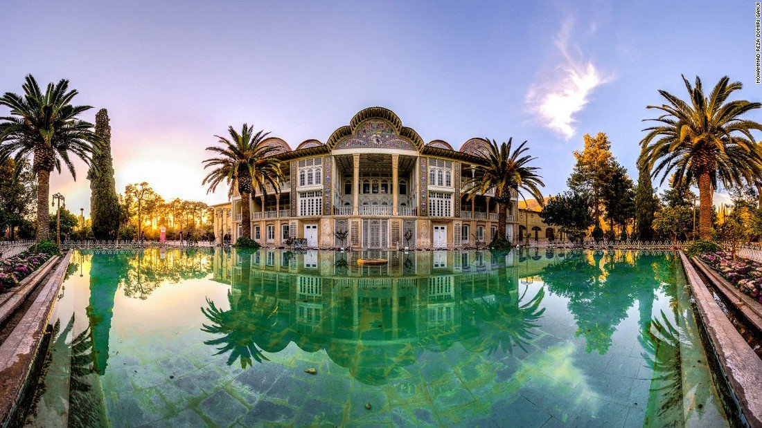 eram garden, shiraz attractions