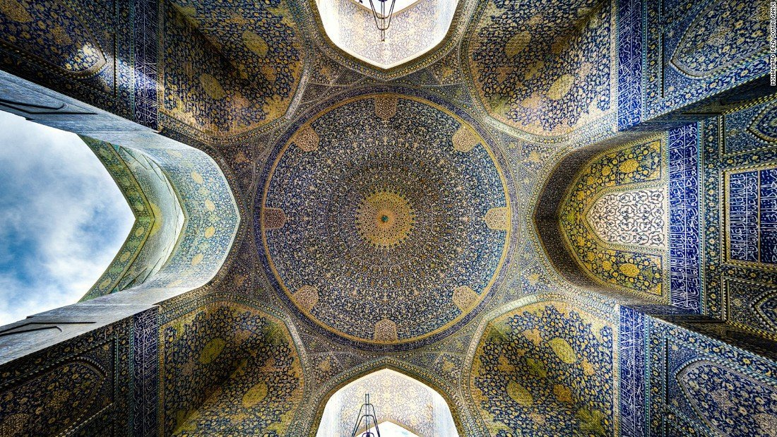 Imam mosque ,Iran architecture , Isfahan mosque