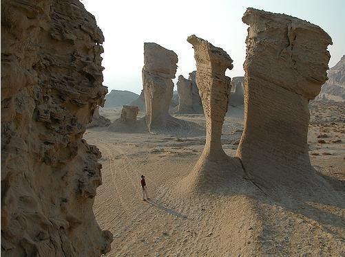 iran yardang , kerman yardang , kerman attractions, kerman highlights