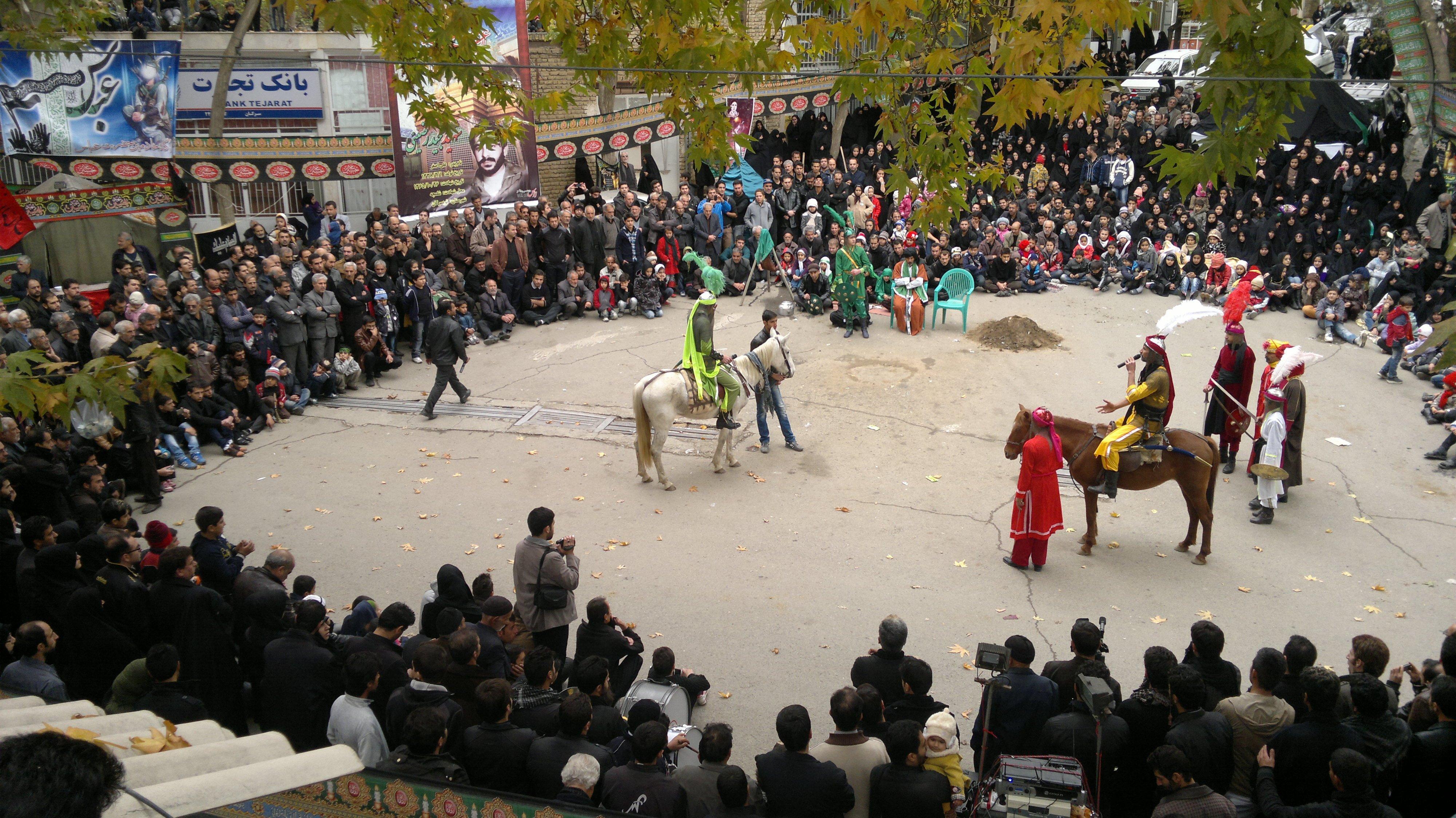 ashura , ashura show , ashura theater , iran street theater
