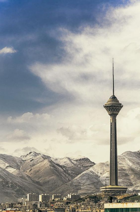 tehran attraction , tehran highlights , Milad tower