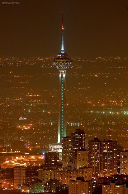Milad tower, tehran attraction , tehran highlights