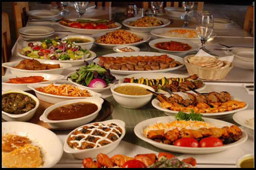 iran A La Carte Meals , iranian foods