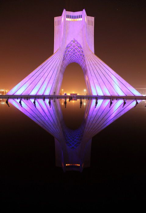 tehran attraction , tehran highlights , Azadi tower