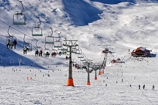 Tochal ski resort , tehran attraction , tehran highlights