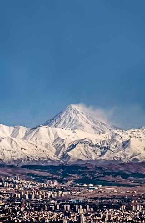 tehran attraction , tehran highlights , Iran Damavan mountain