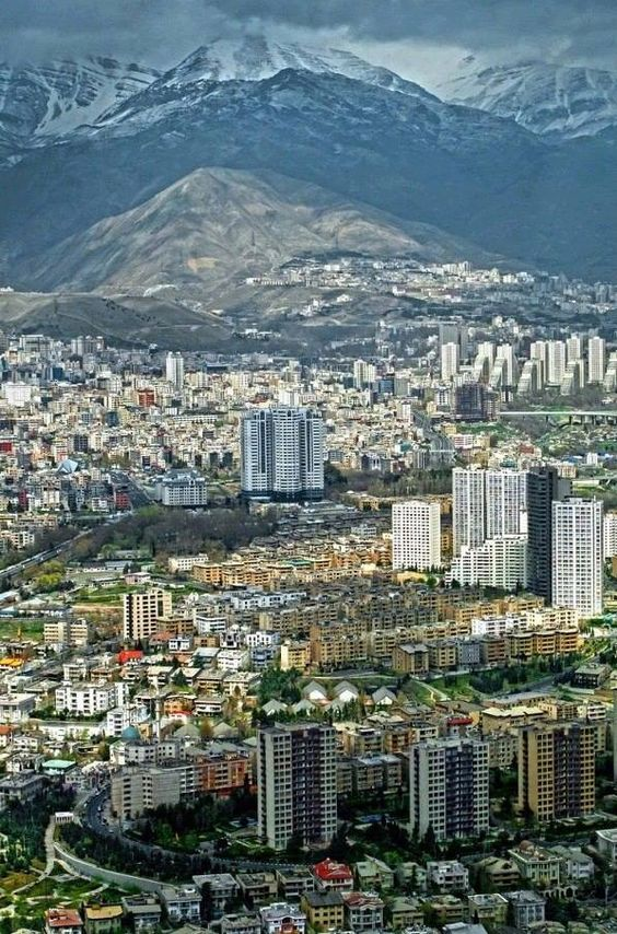 Tehran , Tehran mountain , Iran capital