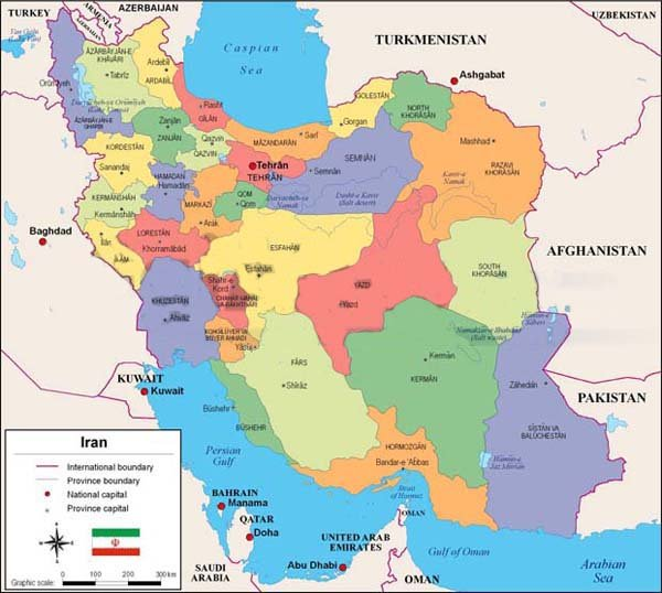 Iran map iran map iran neighborhoods gumiabroncs Choice Image