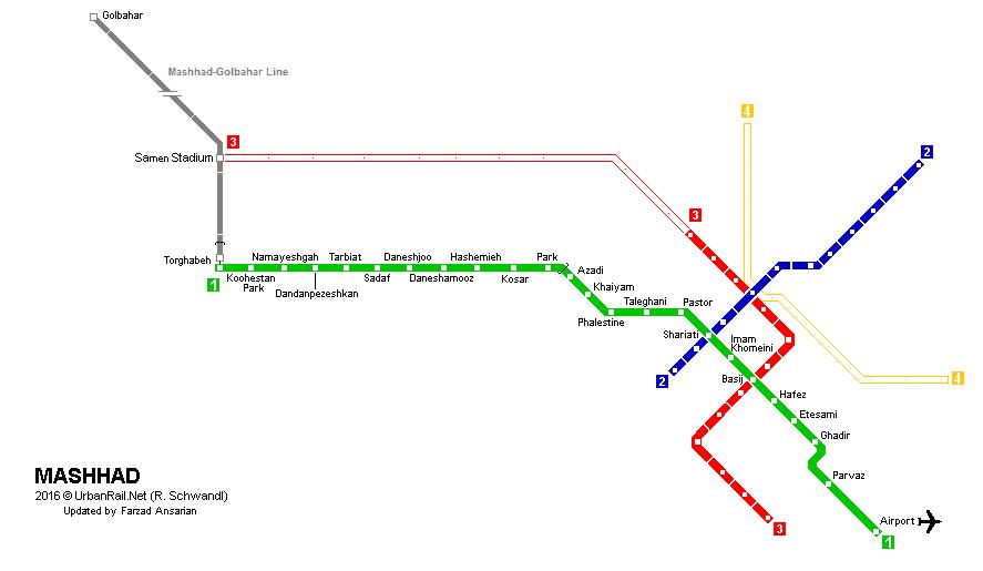 Mashhad Subway