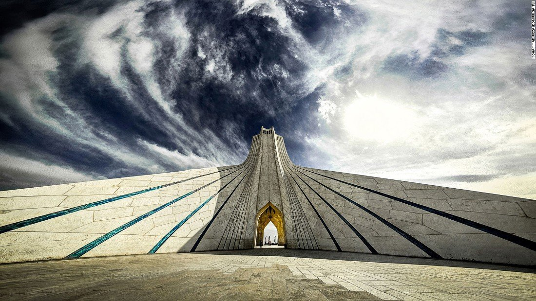 Tehran highlights, azadi square, azadi tower , tehran square