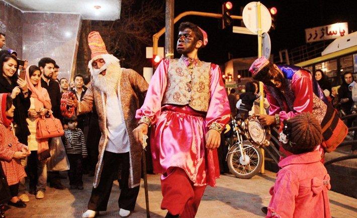 nowruz , persian new year , amu nowruz , iran street theater