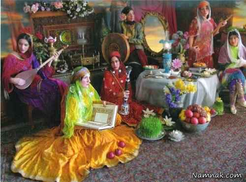 iranian culture, iranian new year , nowruz , girls in nowruz