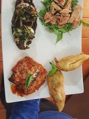 un piatto speciale a base di pesce