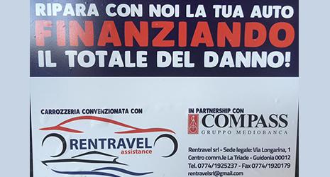 Riparazione auto con finanziamento del danno in provincia di Roma