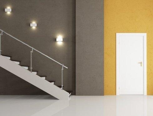 plafoniere scalinata