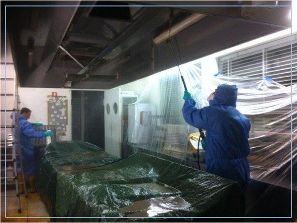 Sanificazione e pulizia cappe cucina