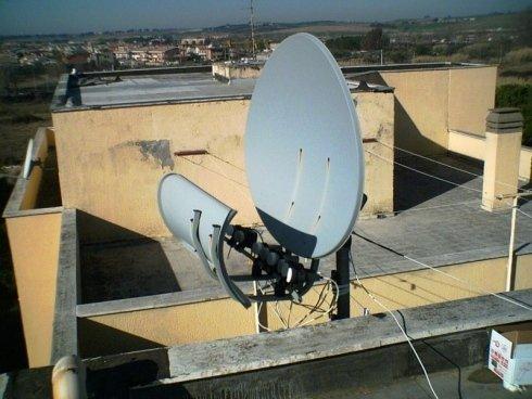 Antenne satellitari esterne