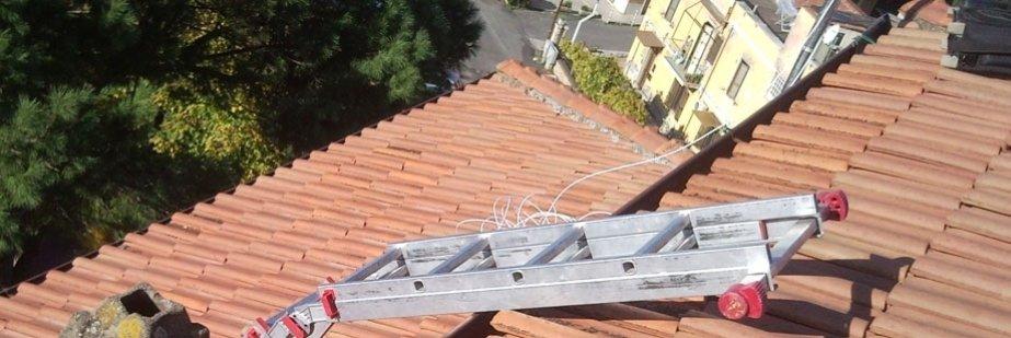 installazione su tetto