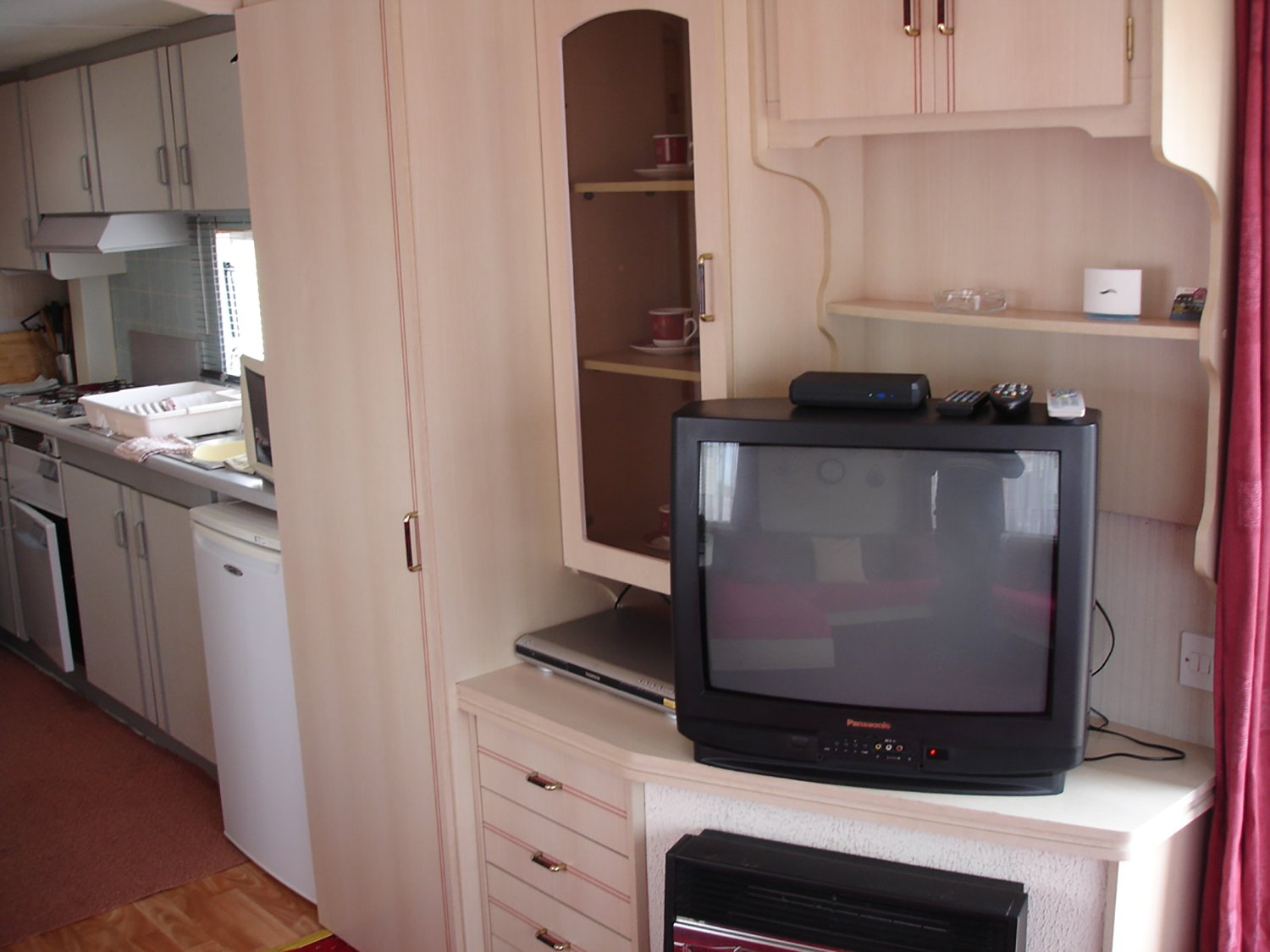 room with furniture and a tv