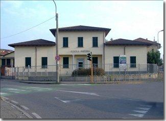 un edificio visto da lontano