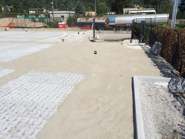 realizzazione pavimentazione