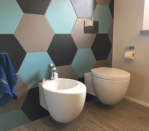 un lavabo moderno
