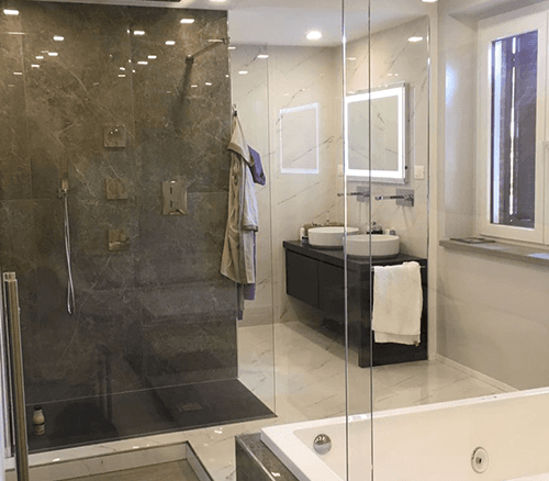 un box doccia