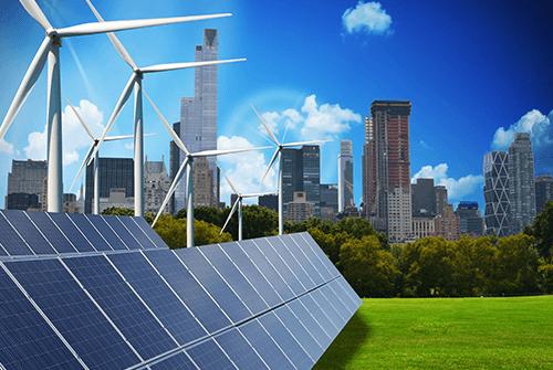 dei pannelli solari su un tetto di una casa