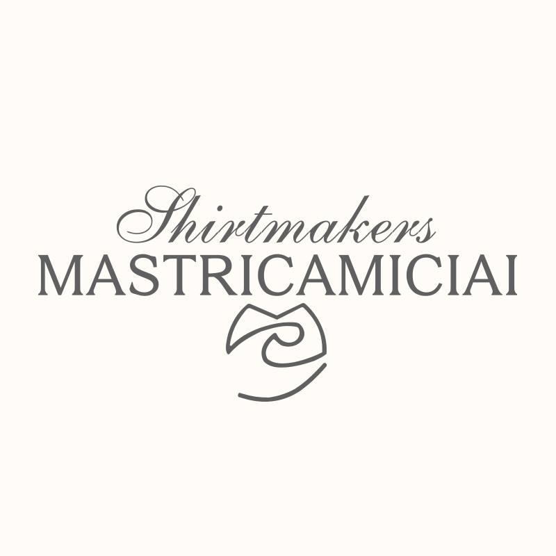 logo Shirtmakers Mastricamiciai scritto in grigio