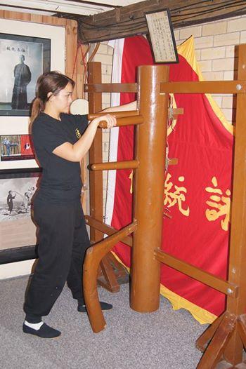 Private Training on The Muk Yuk Jong (Wooden Dummy)