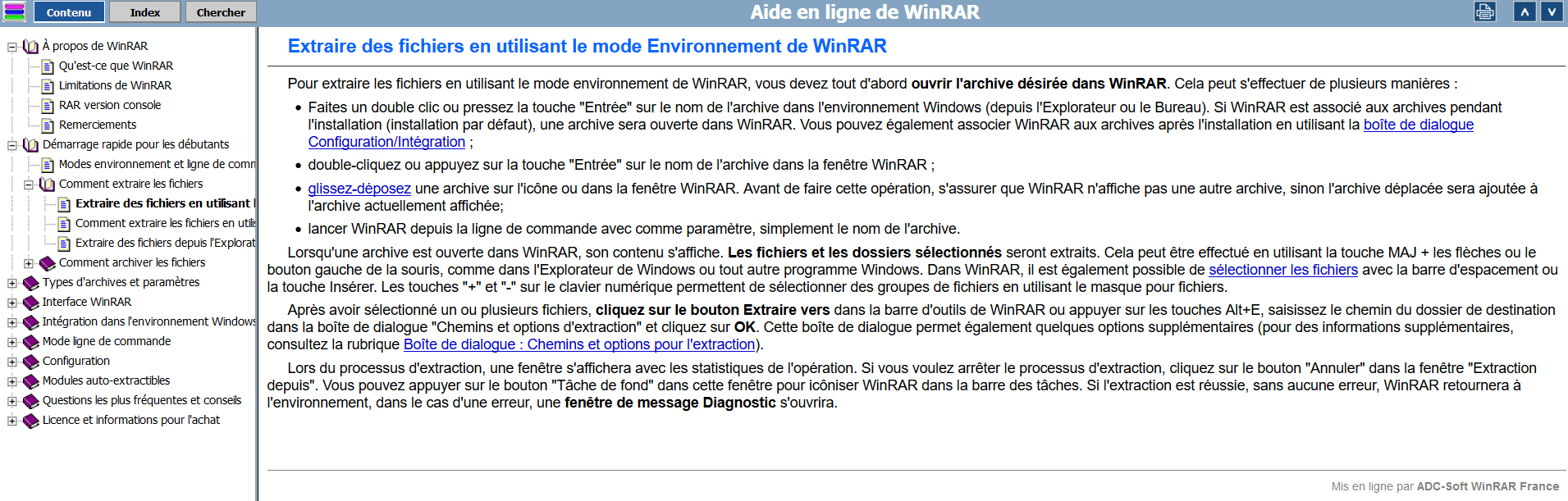 Comment Utiliser Winrar