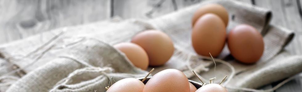 Uova a guscio rosso