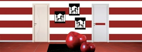 Porte bianche design