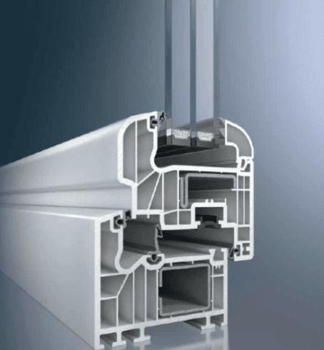 serramento PVC a 6 camere triplo vetro