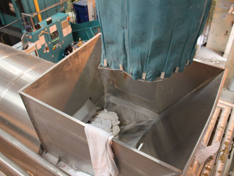 dry cleaning container