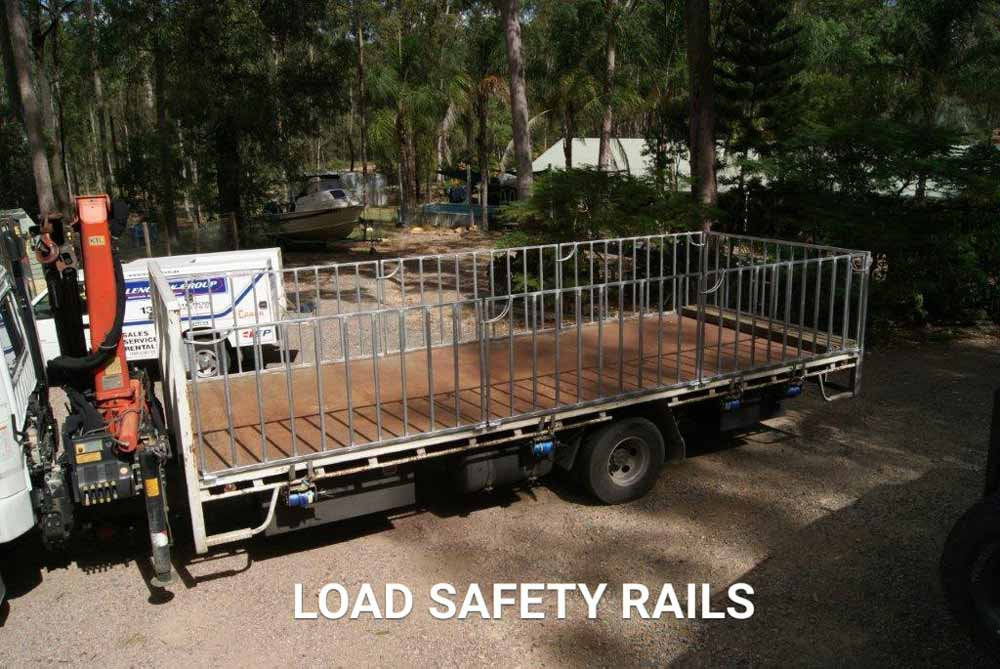 load safety rail