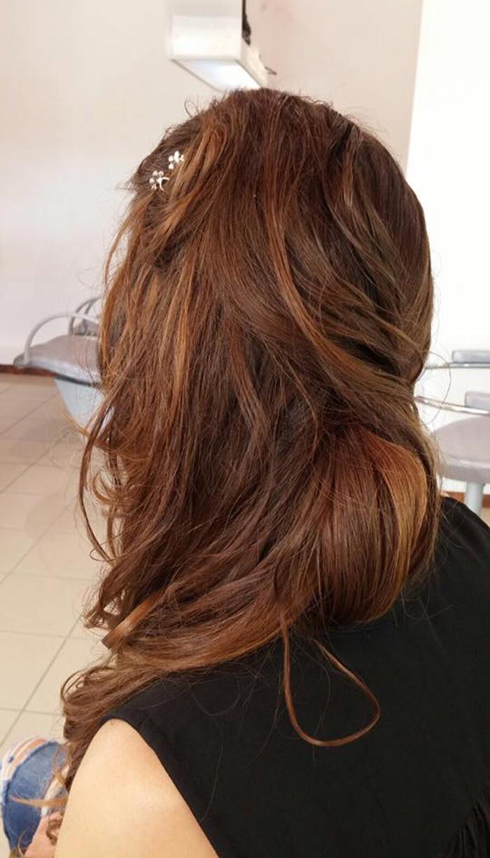 capelli lunghi e mossi