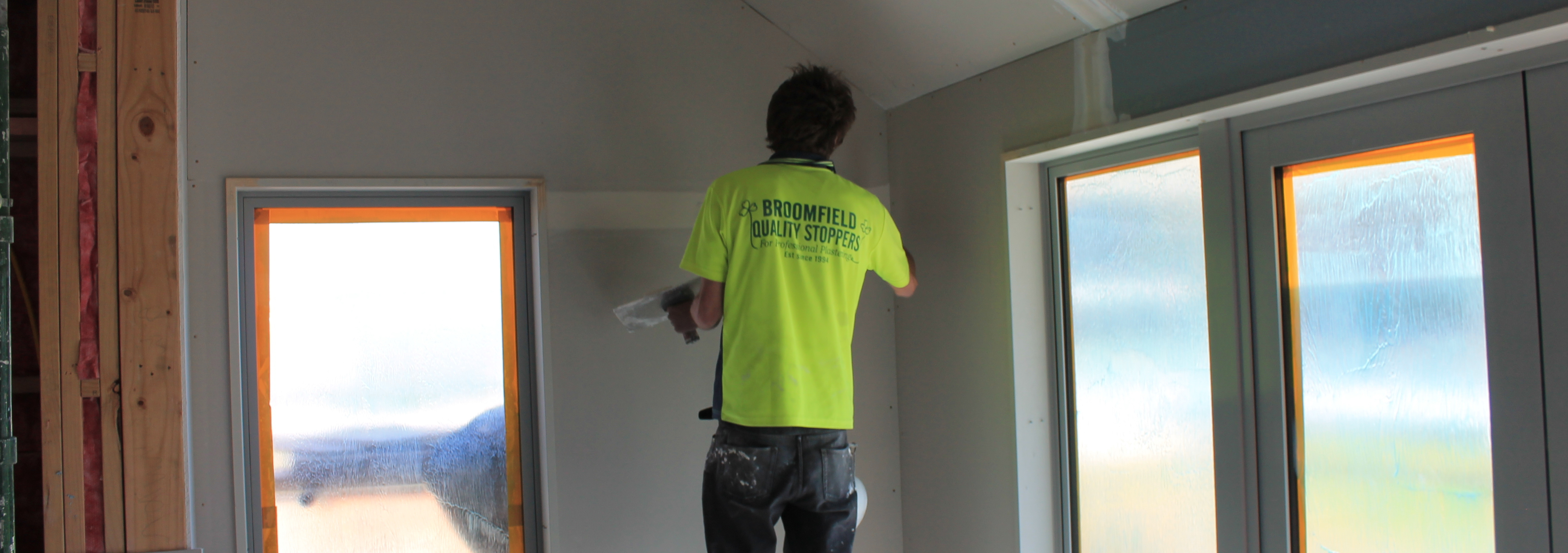 Contemporary interior made possible with plastering services in Christchurch
