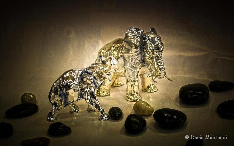 statue animali in argento