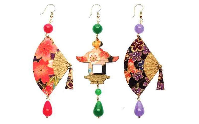 orecchini collezione fujiyama