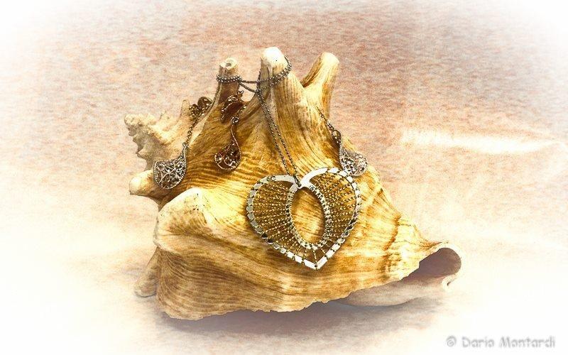 collane oro e argento