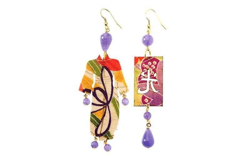 orecchini collezione kimono