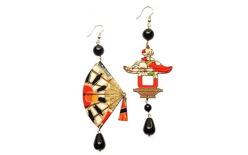 orecchini bigiotteria collezione kimono