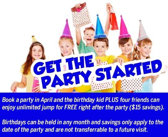 Jumperz fun center coupons