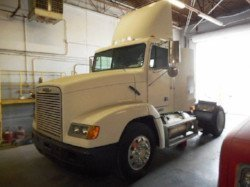 Freightliner semi truck sold at auction