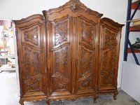 antique english clothing armoire