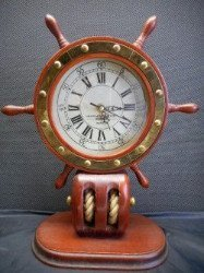 Nautical mantle clock sold at auction