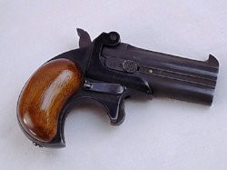 German made Derringer style pistol sold at auction