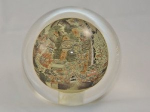 chinese art crystal ball